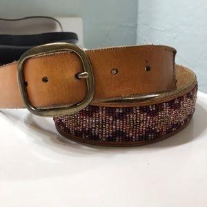 Lucky Brand Beaded Belt